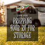 Tips for Prepping Your RV for Storage