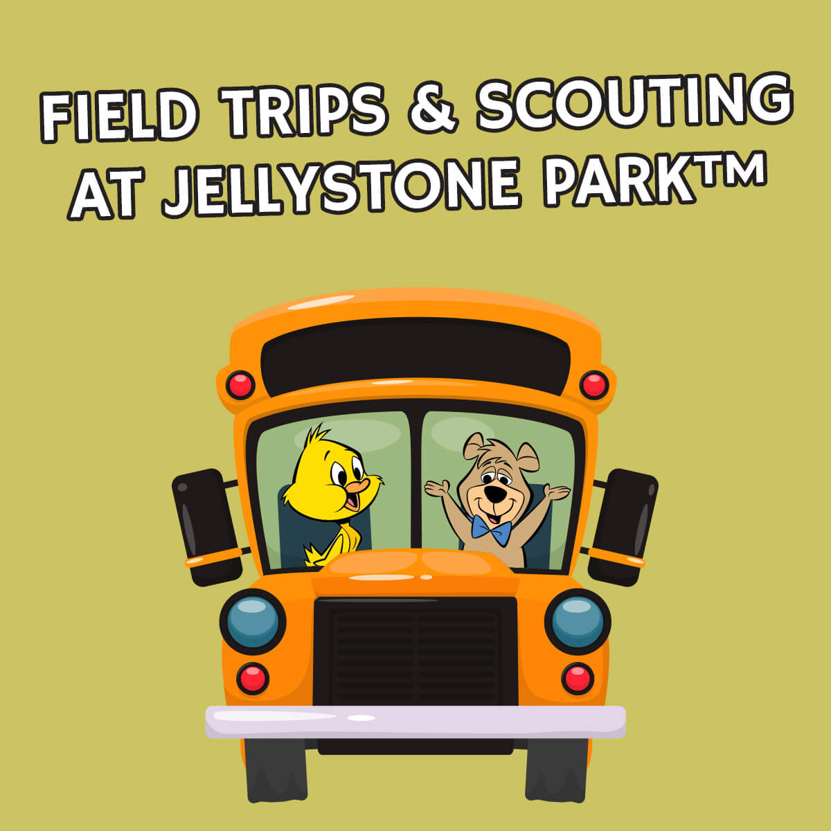 Field trips and scouting at Jellystone Park in Robert, LA