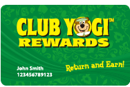 Sign up for Club Yogi rewards
